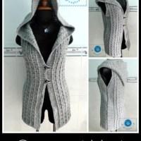 Overcast Vest ~ Maz Kwok's Designs