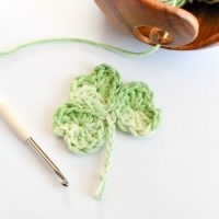 Easy Shamrock by Petals to Picots