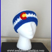 Colorado Headband Ear Warmer by Sara Sach of Posh Pooch Designs