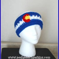 Colorado Headband Ear Warmer by Sara Sach of Posh Pooch Designs