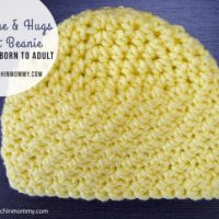 Sunshine and Hugs Crochet Beanie - Newborn to Adults by The Stitchin' Mommy