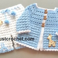 Coat and Bloomers by JustCrochet