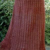 Shell Summer Skirt by ABC Knitting Patterns