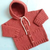 Baby Jacket/Cardigan by aamragul of Crosia Home
