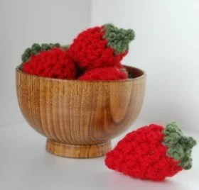 Strawberries by Inner Child Crochet