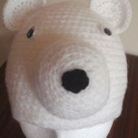 Polar Bear Beanie by Crochet Addict