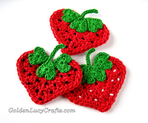 Pc purple heart crochet applique etsy