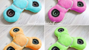 Catfish Purr-maid Cat Pillow Free Crochet Pattern - Cool Creativities | 200x350