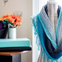 Mandala Cowl by Mary Dickerson from Crafty Tutorials