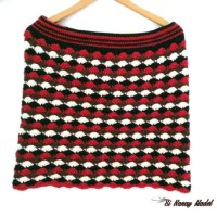 Shell Stitch Crochet Skirt by Si Nanay Madel