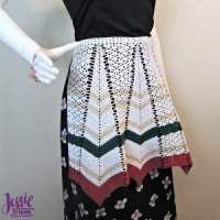 Vintage Crochet Apron by Jessie At Home