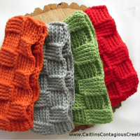 Basket Weave Ear Warmer by Caitlin's Contagious Creations