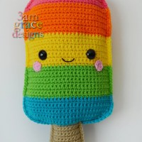 Popsicle Kawaii Cuddler™ by Donna Beavers - 3amgracedesigns