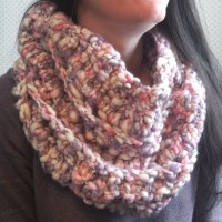Cotton Candy Popcorn Cowl by City Farmhouse Studio