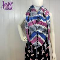 Mariposa Shawl by Jessie Rayot from Jessie At Home