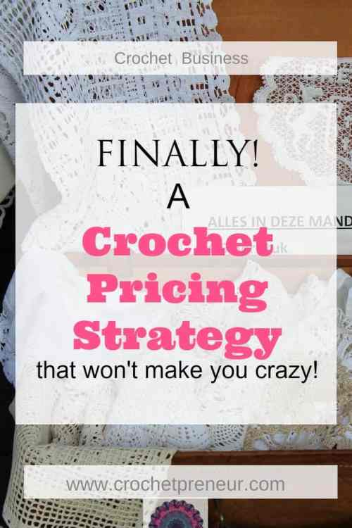 Finally, a crochet pricing strategy that wont make you crazy