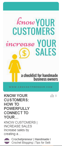 A sample opt-in graphic for your Pinterest account and link it directly to the signup page on your blog