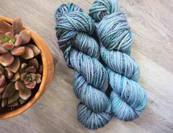 Bulky Merino Wool from Knit Coast Fibers