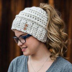 Chelsea Beehive Ponytail Hat