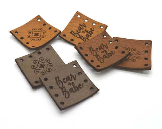 Leather Product Tags