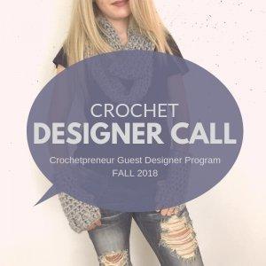 Crochetpreneur Guest Designer Program 2018