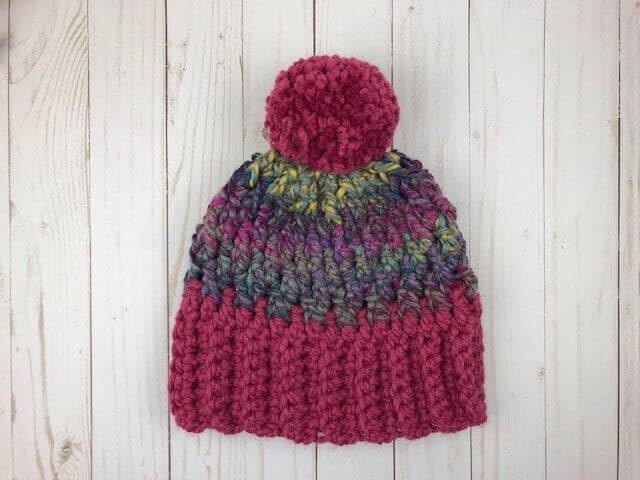 Unisex Winter Hat Crochet Pattern