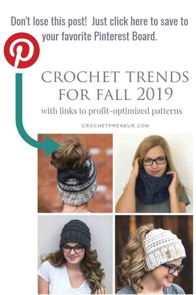 Image reminding the readers to add this graphic in their crochet related Pinterest boards