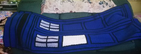 TARDIS for her ~ Crochet Stitches and Butterfly Kisses
