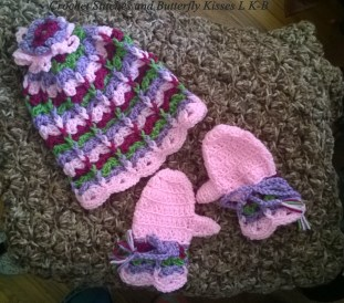 Scalloped set Toddler size