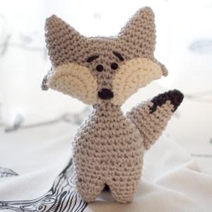 Little Crochet Wolf