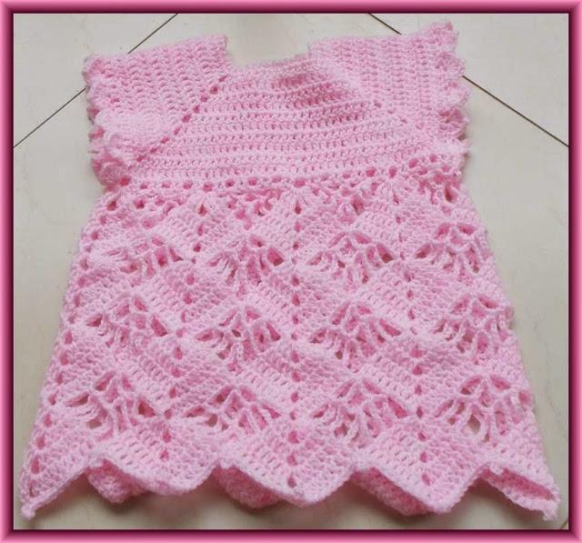 Vestido Niña Crochet Esquemas De Ganchillo