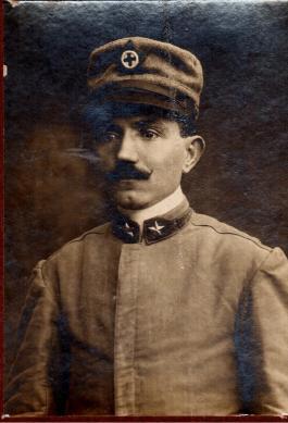 Arciprete Don Matteo Brunetti, Tenente Cappellano Militare volontario nella grande guerra 1915 - 18.