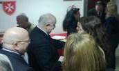 """Festa pasquale dell'Assistito presso il Consultorio e Centro di Assistenza """"Barone Gabriele Ussani d'Escobar"""" del Sovrano Militare Ordine di Malta. Roma, 5 aprile 2014"""
