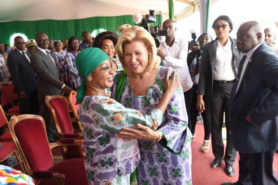 Mmes Ouattara et Bédié ensemble à Anyama : Mme Gbagbo, seule à Port-Bouët