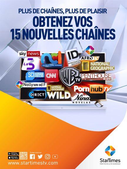 (Côte d'Ivoire Télévision) Lancement de nouvelles chaines : Julien Zhu, DG de StarTimes Cote d'Ivoire: « Nous avons souhaité récompenser nos abonnés pour leur fidélité »