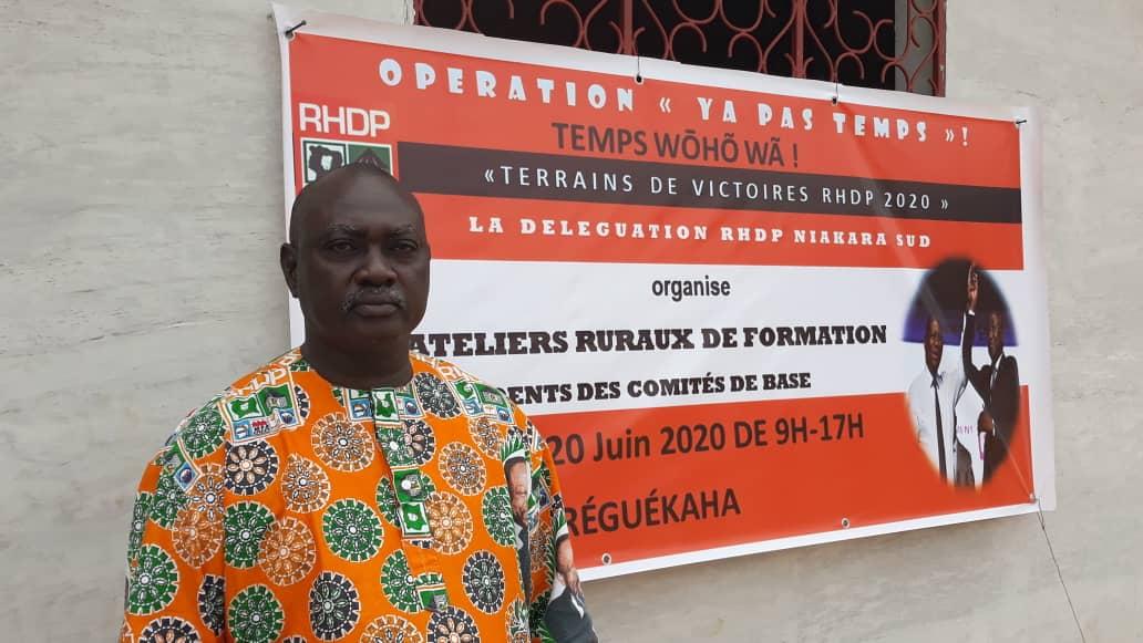 [Côte d'Ivoire Présidentielle 2020] Depuis Ouéréguékaha, Ouattara Clément déballe sa stratégie pour la victoire d'Amadou Gon Coulibaly