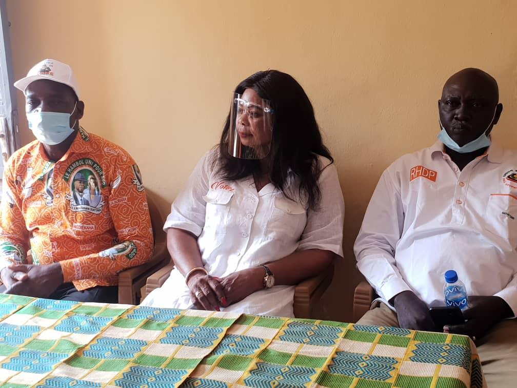 Lancement de la campagne de la candidate du Rhdp: les étapes de Ouereguekaha, Niakara et Tortiya