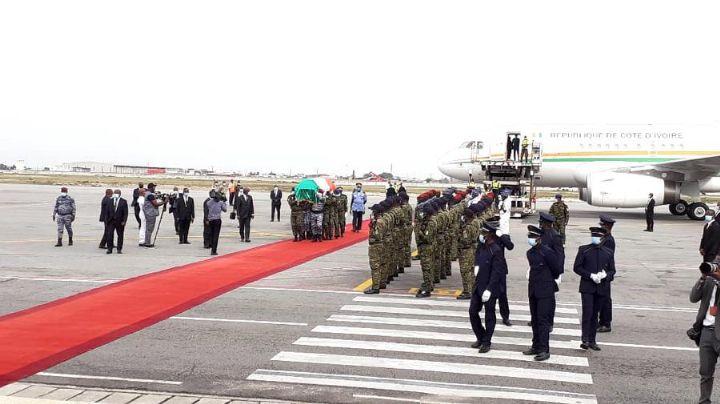[Décédé en Allemagne] La dépouille mortelle d'Hamed Bakayoko est arrivée en Côte d'Ivoire