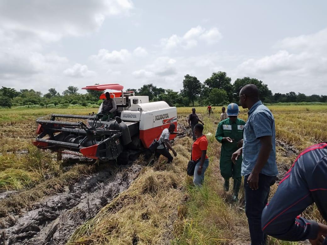 La mécanisation de l'agriculture est une réalité à Dabakala. Ph. S. K.