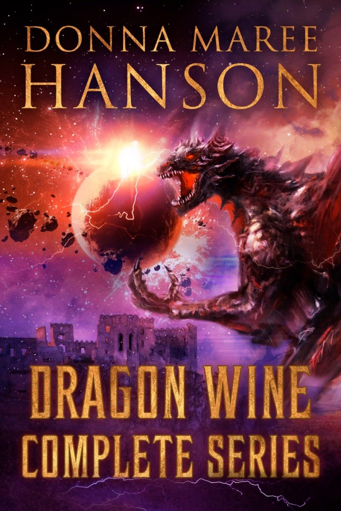 Dragon Wine Complete Series by Donna Maree Hanson