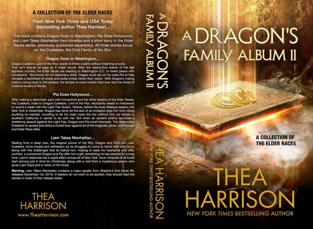 A Dragon's Family Album II by Thea Harrison (Print Coverflat)