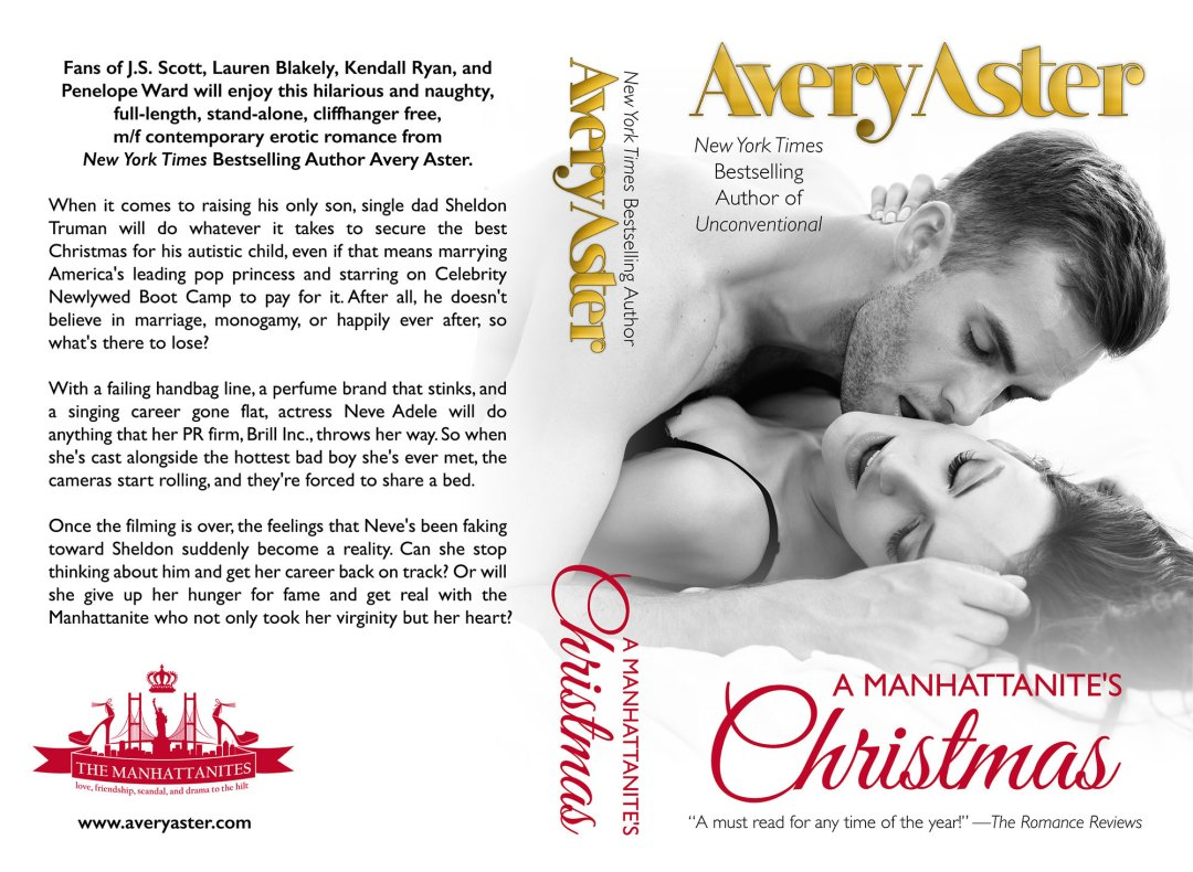 A Manhattanites Christmas by Avery Aster (Print Coverflat)