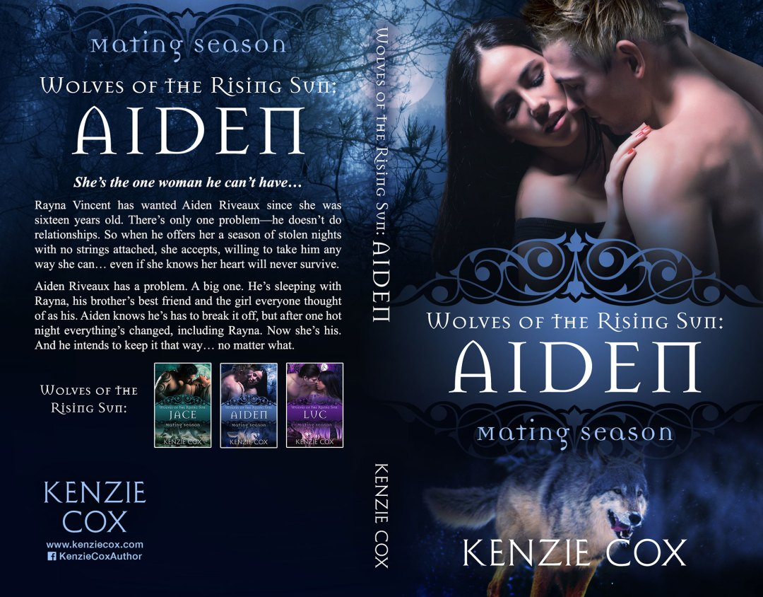 Mating Season: Aiden by Kenzie Cox (Print Coverflat)