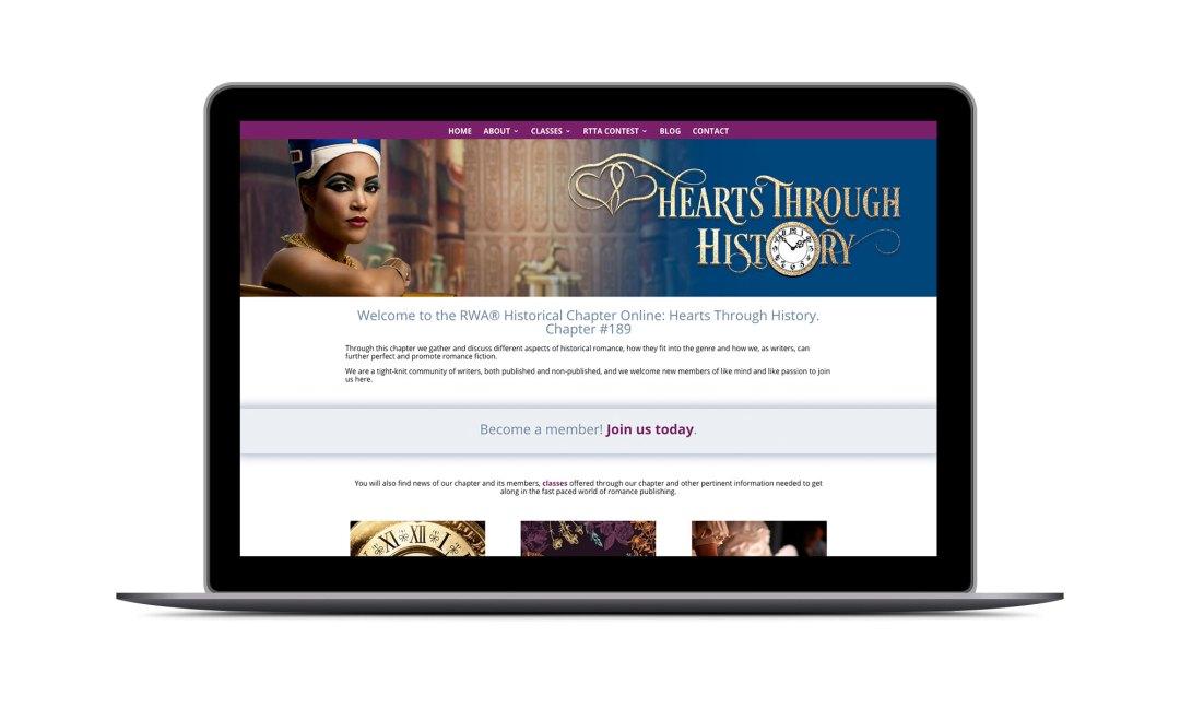 Screenshot: HHRW Website