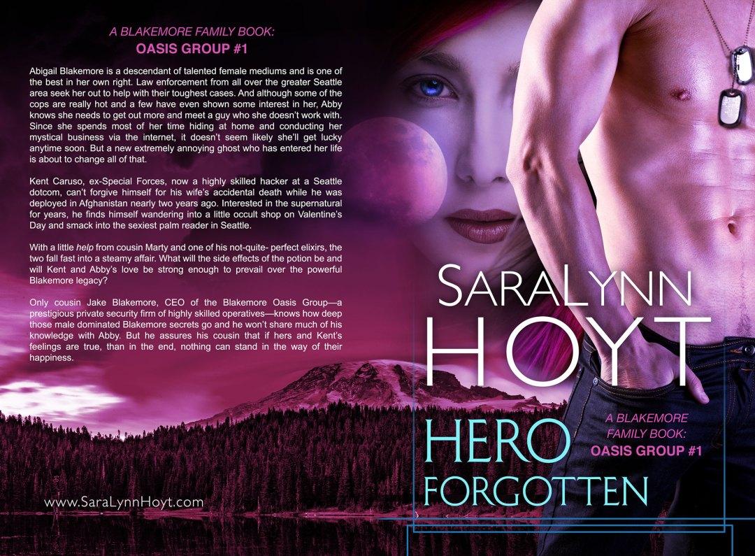Hero Forgotten by SaraLynn Hoyt (Print Coverflat)