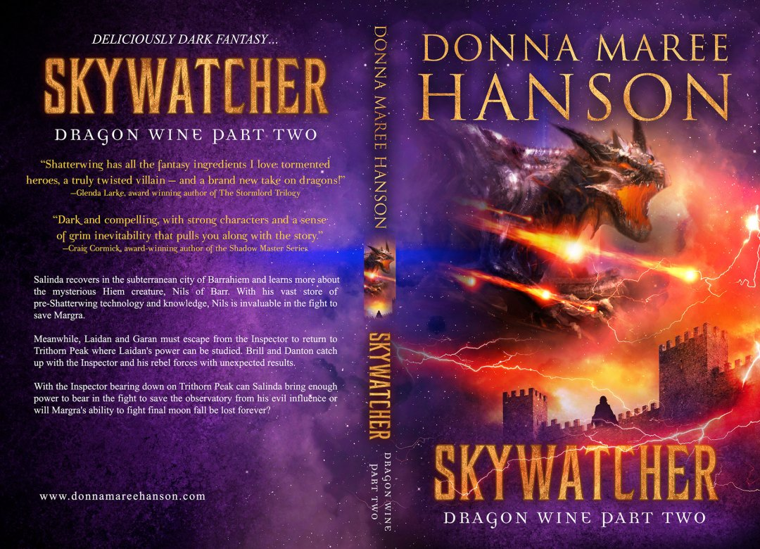 Skywatcher by Donna Maree Hanson (Print Coverflat)