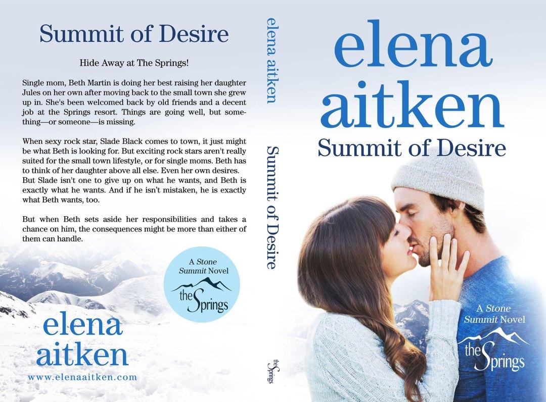 Summit of Desire by Elena Aitken (Print Coverflat)