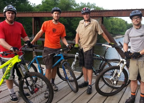 L to R: Jason Decoux, Carl Arnold, Scott Koehler, Jeremy Bokman
