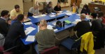 BikeNorthfield steering committee mtg, Feb. 2015