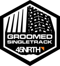 Groomed singletrack